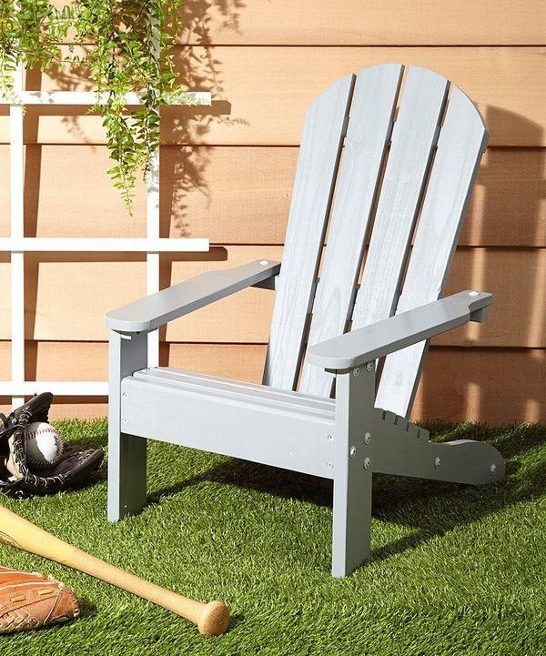Love This KidKraft Gray Adirondack Chair By KidKraft On