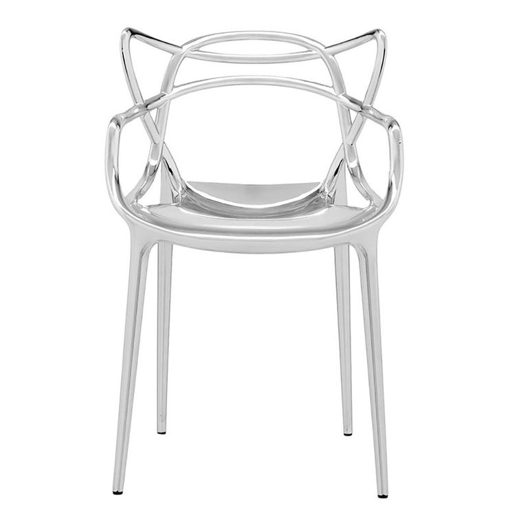 top3 by design - Kartell - masters chair chrome