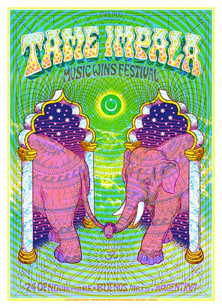 Gig Poster - Buenos Aires, Argentina