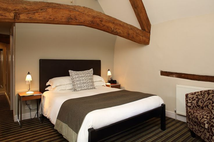 Comfy and cosy are we. With a lovely Witney blanket in every bedroom at The Blue Boar, Witney