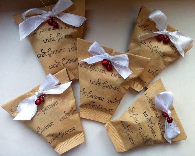 Mein Haus, mein Garten, mein Hobby.: Workshop-Goodies für Kaffeetrinker ... aus braunen Kaffeefiltertüten (schnell & einfach)