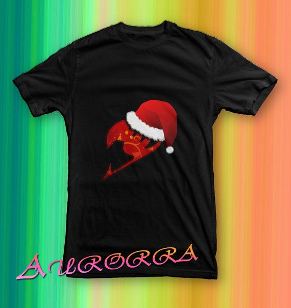 fairy tail logo merry christmas tshirt for men and by paseosoft