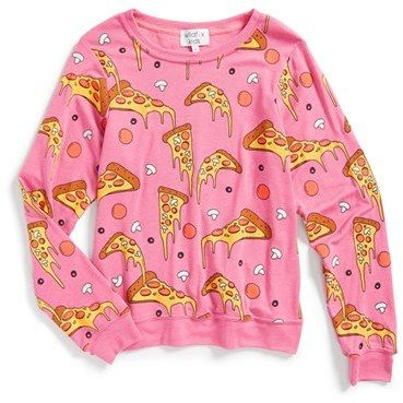 Wildfox Pizza Sweatshirt
