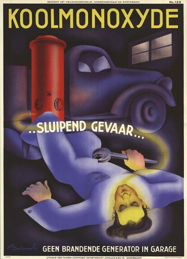 Vintag Advertising Poster