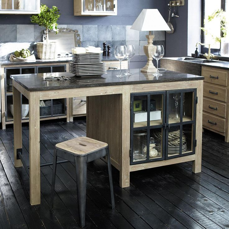 Awesome Maison Du Monde Cuisine #10: Kitchen Island From Maison Du Monde