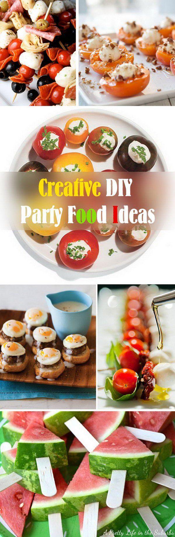 Creative DIY Party Food Ideas!