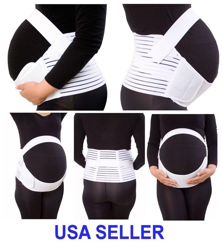 Maternity Support Belt Pregnancy Belly Back Brace (FDA Approved) NWT USA SELLER
