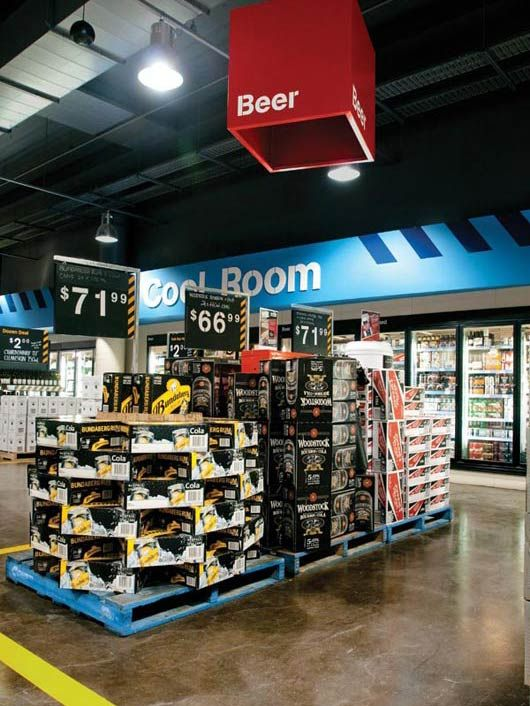 Signage, Wayfinding and Environmental Design; First Choice Liquor Stores