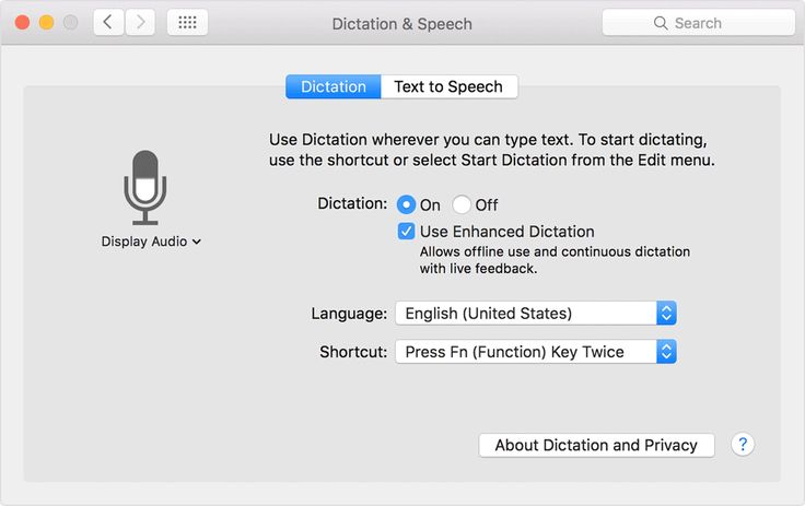 Use your voice to enter text on your Mac - Apple Support