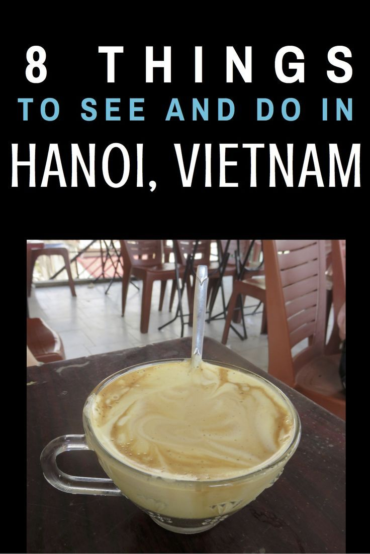 8 Things to See and Do in Hanoi, Vietnam! #travel #hanoi #vietnam #Asia #travel #travelblog