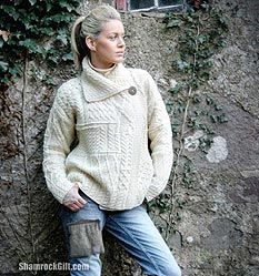 Aran Isle Sweaters - how a dropped stitch gave rise to a popular myth. - World Cultures European
