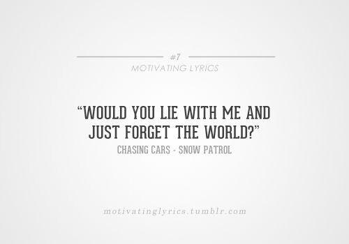 Motivating lyrics