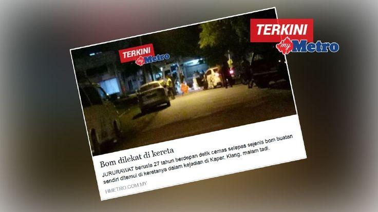 Bekas kekasih rupanya  Suspek letak bom bawah kereta jururawat ditahan   SUSPEK utama dipercayai meletakkan bom buatan sendiri di bawah kereta bekas kekasihnya di Kapar kelmarin ditahan polis di rumah di Taman Petaling Indah Klang hari ini.    Bekas kekasih rupanya  Suspek letak bom bawah kereta jururawat ditahan  Ketua Jabatan Siasatan Jenayah Selangor Senior Asisten Komisioner Fadzil Ahmat berkata suspek 28 yang juga bekas penuntut kolej swasta dalam bidang elektronik pada 2006 dan pernah…