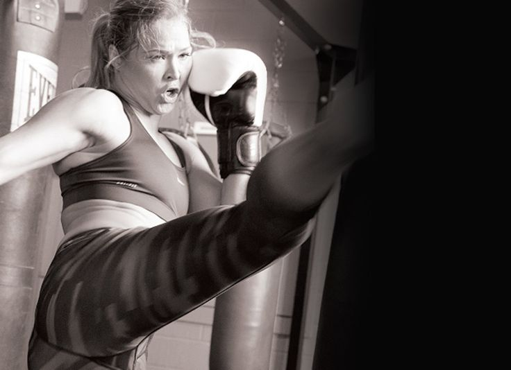 MMA fighter Ronda Rousey shows us the moves that keep her in fighting form.