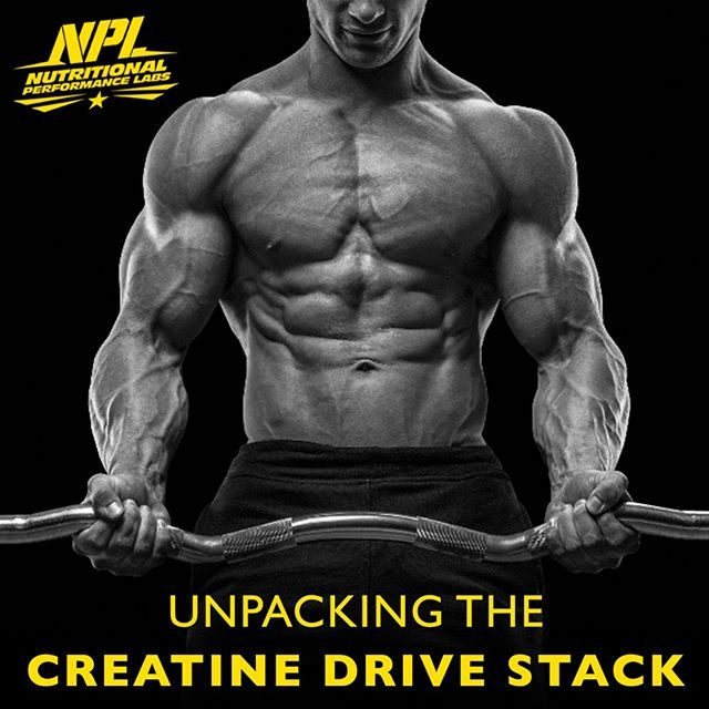 Creatine Drive is so much more than just Creatine. With an added SUPER STACK…