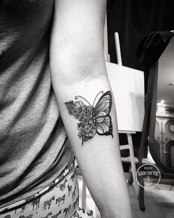 Magazine - 15 Inspirations de tatouages papillon - Allotattoo