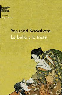 """""""Desde la galería del estudio sólo se veía el jardín interior del templo, la residencia principal interrumpía la vista. Era un jardín oblongo, no muy artístico, pero la luna bañaba la mitad de su superficie, de modo que hasta las piedras exhibían colores variados por efectos de las luces y sombras. Una azalea blanca parecía flotar en la oscuridad. El arce rojo que se levantaba cerca de la galería aún tenía hojas tiernas, pero la noche los oscurecía. """" Yasunari Kawabata"""