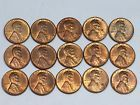 ♦→ #Partial Roll(15 #COINS) 1940-P RED/RB BU LINCOLN #WHEAT CENTS Affordable http://ebay.to/2isdLen