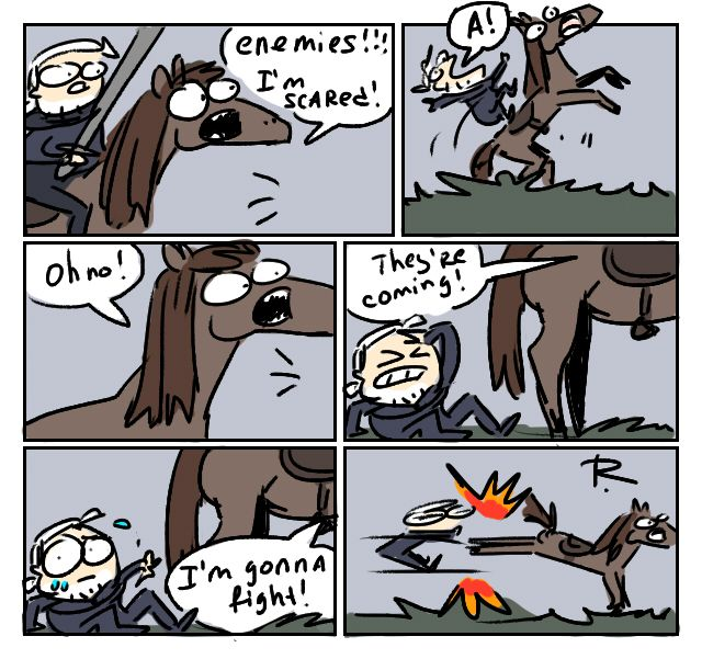 The Witcher 3, doodles 232 by Ayej