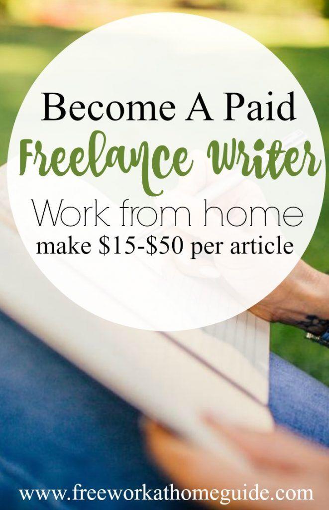 Top article writing job sites