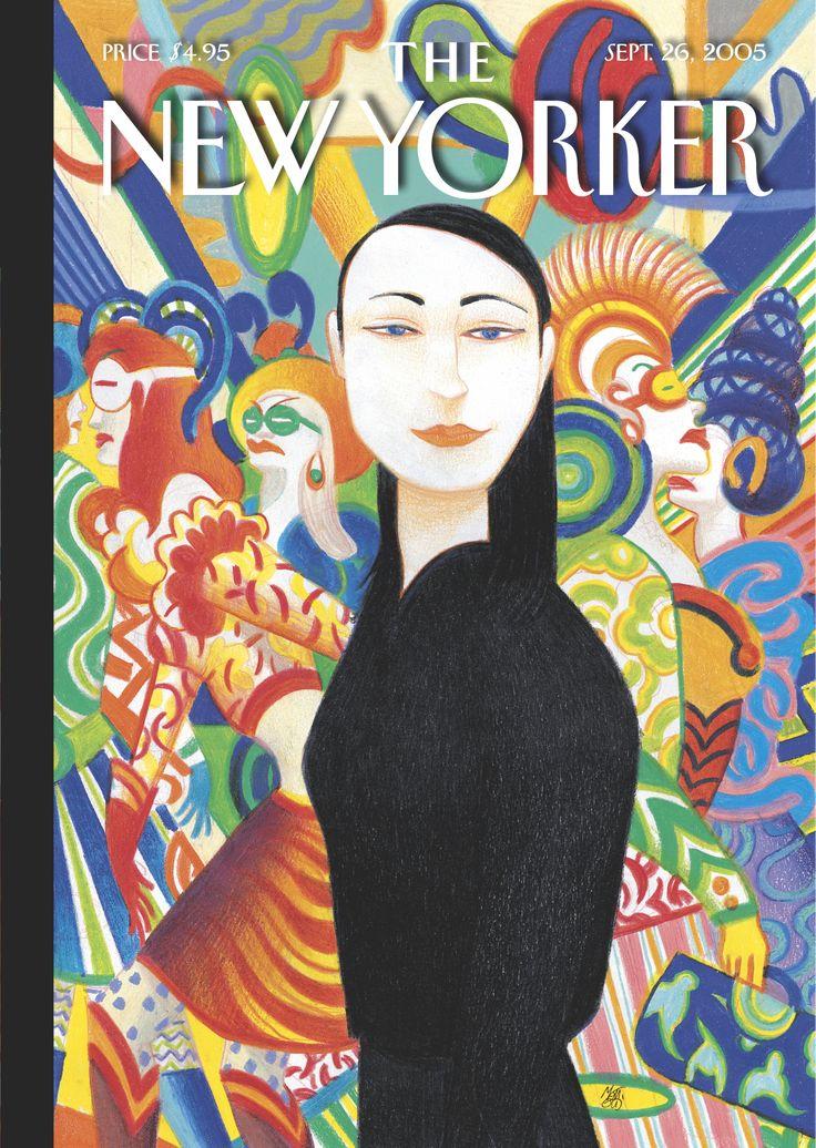 The New Yorker cover - Summer Escapes - Mattotti