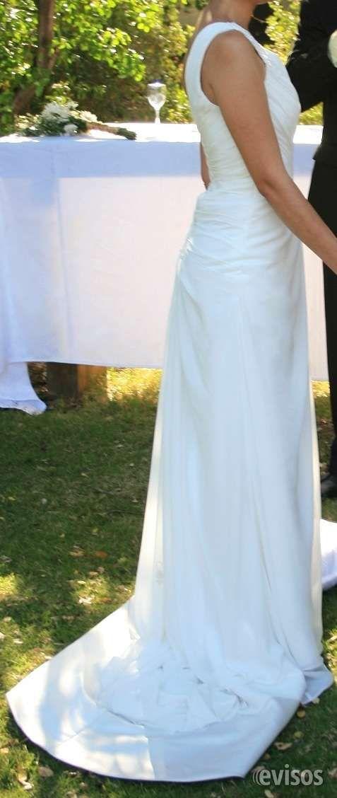 Vestido de Novia Importado.-  Vestido de Novia, en gasa chiffon que se aju ..  http://santiago-city-2.evisos.cl/vestido-de-novia-importado-id-614842