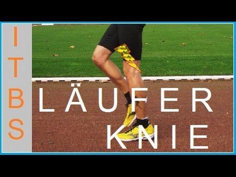 Läuferknie selber Tapen - Knie Außenseite Tapen Anleitung - YouTube