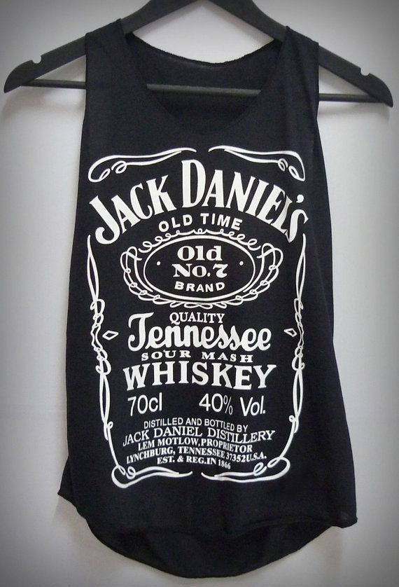 jack daniels tank top tank top for women and men by arenay0studio