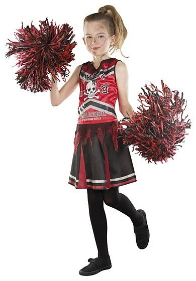 Halloween Teen Cheerleader Fancy Dress Costume, read reviews and buy online at George at ASDA. Shop from our latest range in Kids. Give us a B! Give us an O!...