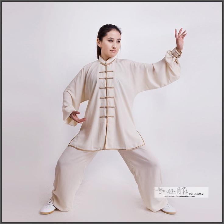 Tencel and Hemp Blend Apricot Tai Chi/Kung Fu/Meditation Suit