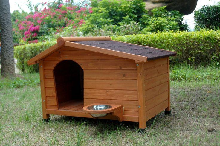 Les 13 meilleures images du tableau niches et maisons pour for Niche chien exterieur