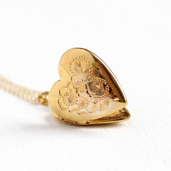 Genuine natural diamond heart 9k yellow gold pendant necklace gold chain