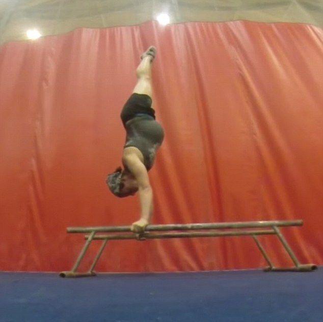 gymnastics apparatus  parallel bars