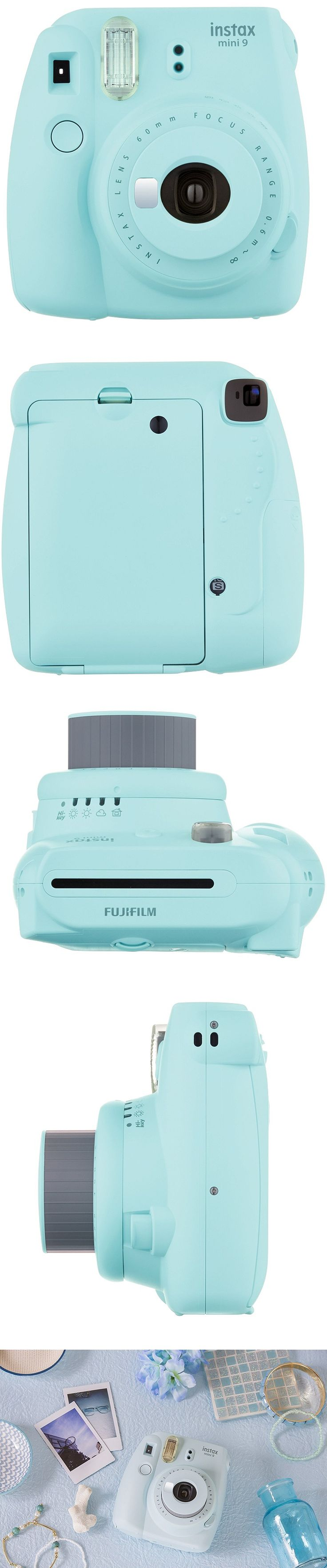 Fujifilm Instax Mini 9 Instant Camera Ice Blue. #Gadgets #Tech