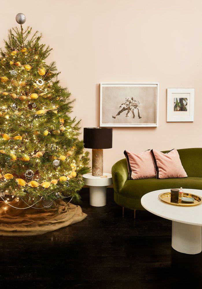 Christmas Tree Decorating Ideas From The Hardware Store Christmas Tree Christmas Tree Decorations Diy Christmas Tree