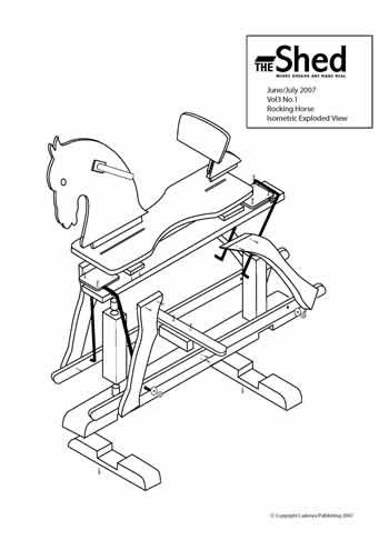 Rocking Horse Plans Free Diy Rocking Horse Plans Woodworking