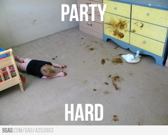 Tomorrow is Friday, so we all know what to do...: Funny Shit, Party Hard, Funny Stuff, Humor, Baby, Things, Kid