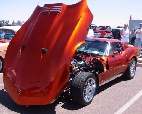 76 corvette   About The 1976 Corvette