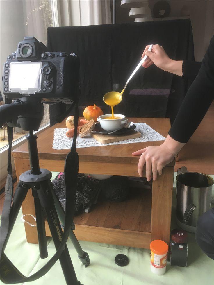 Fotoset voor het Perfecte Plaatje - thuisopdracht, maak een smakelijke foodfoto. Na een dik uur proberen, is het gelukt!