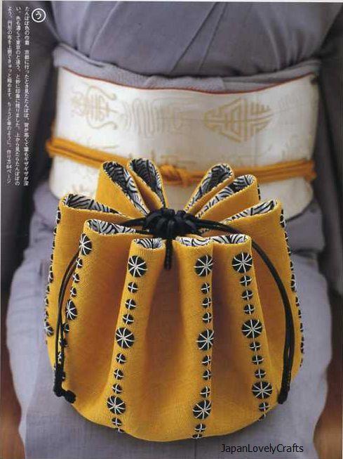 Je veux Kimono Bags livre de modèle de par JapanLovelyCrafts