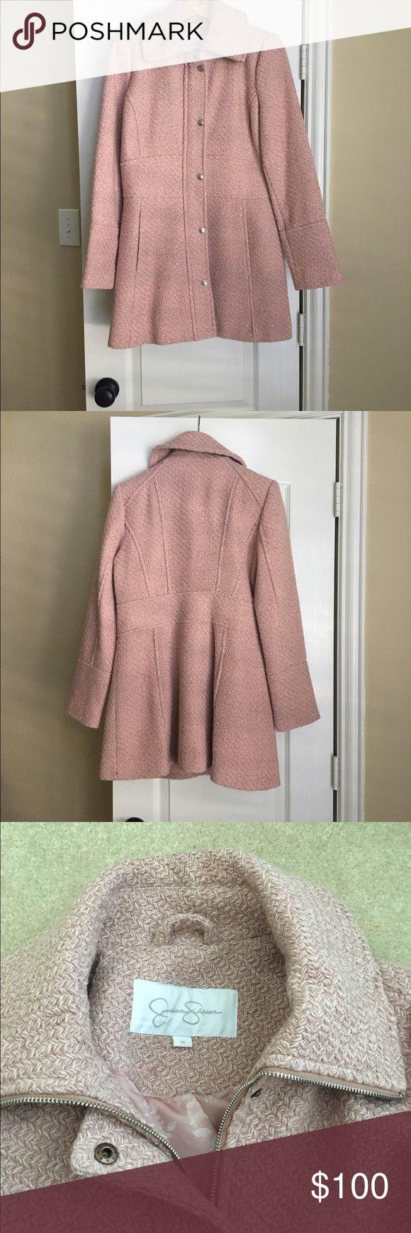 Jessica Simpson pink coat size medium Pink Jessica Simpson coat size medium Jessica Simpson Jackets & Coats