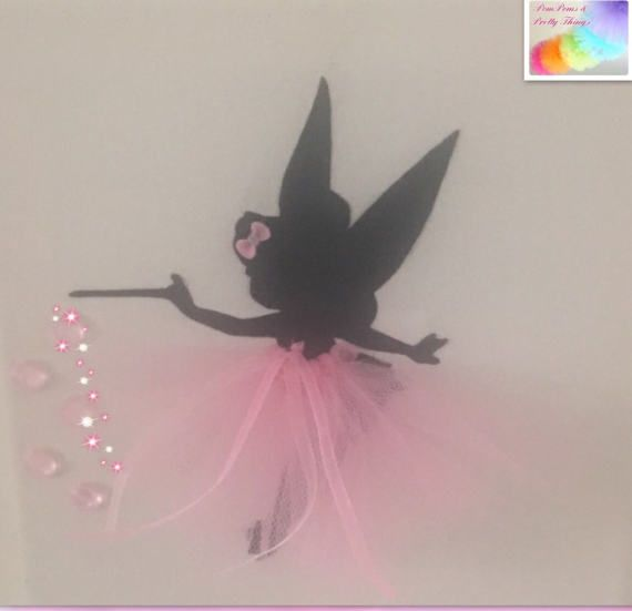 Canvas Fairy Canvas Tutu Bow Picture Fairy Picture