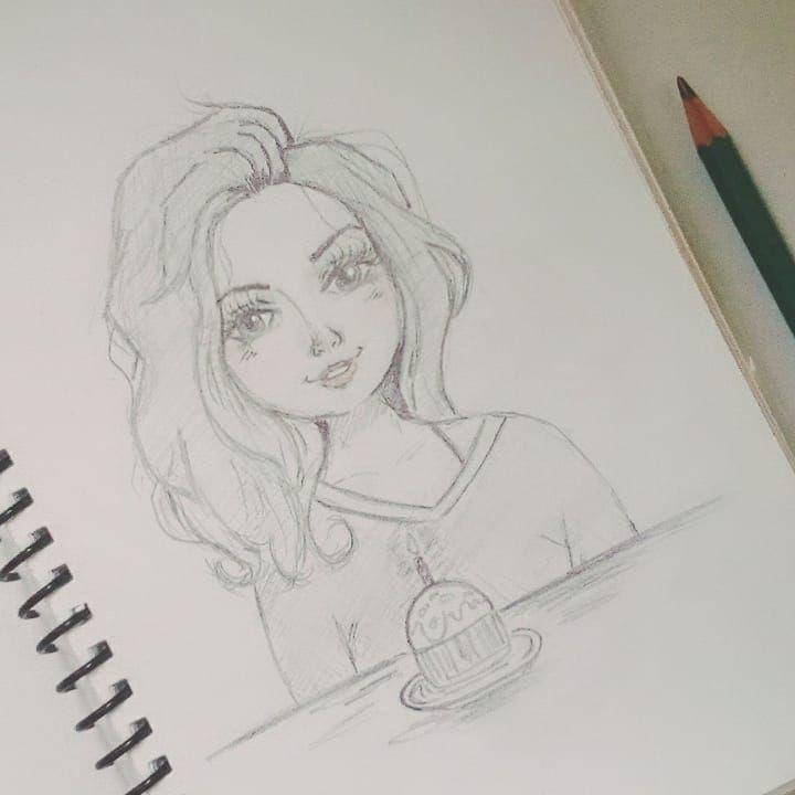 It S My Birthday Dibujo Mujer Dibujo Facil Dibujos