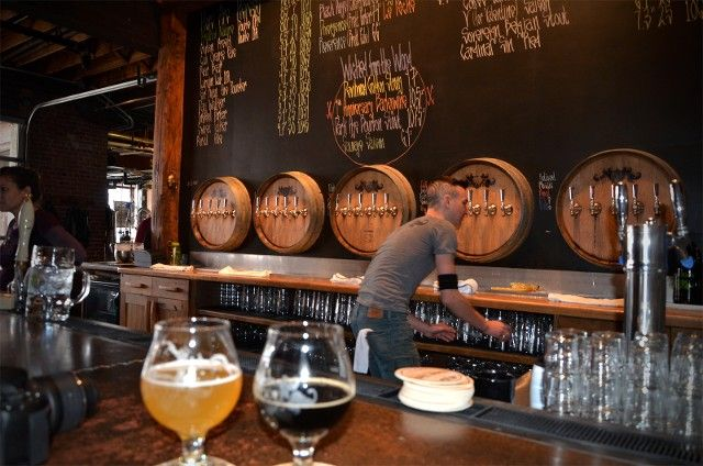 Asheville, NC is becoming more and more known for its numerous breweries. Here we take a look at a handful of breweries including Wicked Weed, Burial, Lexington Avenue and Asheville Brewing Company.