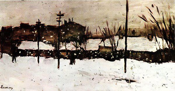+ Ștefan Luchian – Iarna la Bariera Filantropia