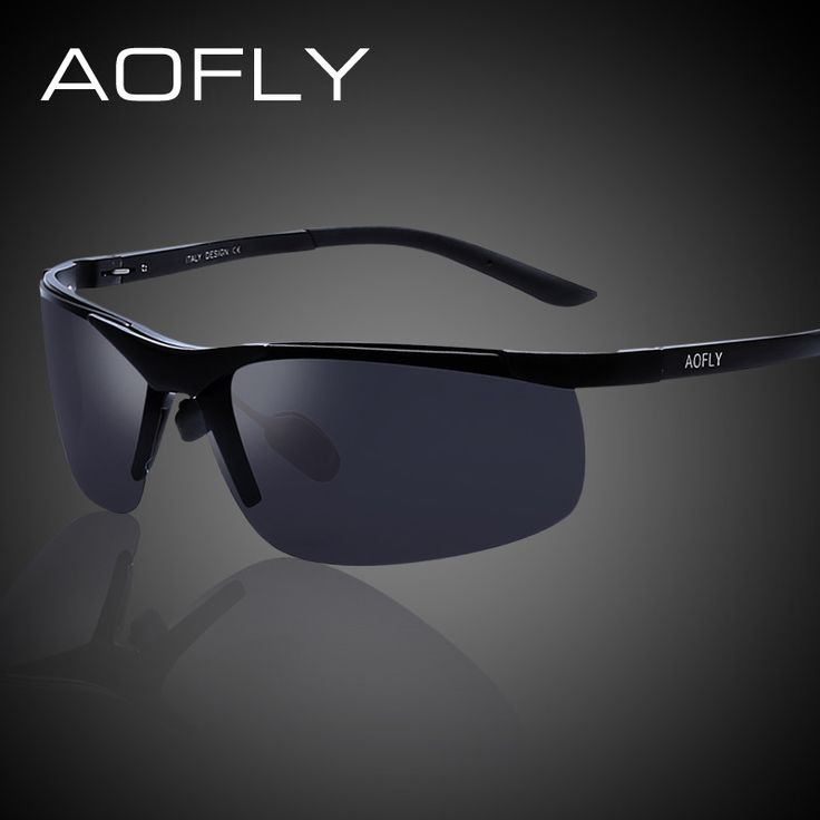 AOFLY Aluminum Magnesium Polarized Sunglasses Men Original Brand Design Driving Sun Glasses Male HD Polaroid Shades With Case  #gloves #sexyshoes #belts #wallets #fashionweek #style #mensfashion #money #bags #love #wedding #sunshades #followme #sale #accessories