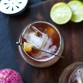Pomegranate-Guava-Ginger Margarita Recipe