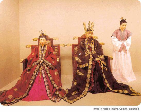 Korean Traditonal Clothes of Silla #고대의복 #hanbok