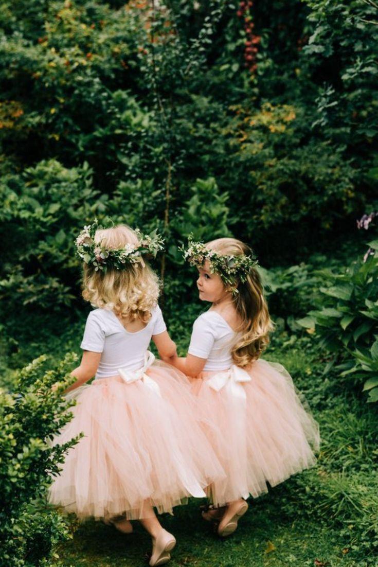 Long Tutu Flower Girl Dress Png Weddingplanning Weddingideas