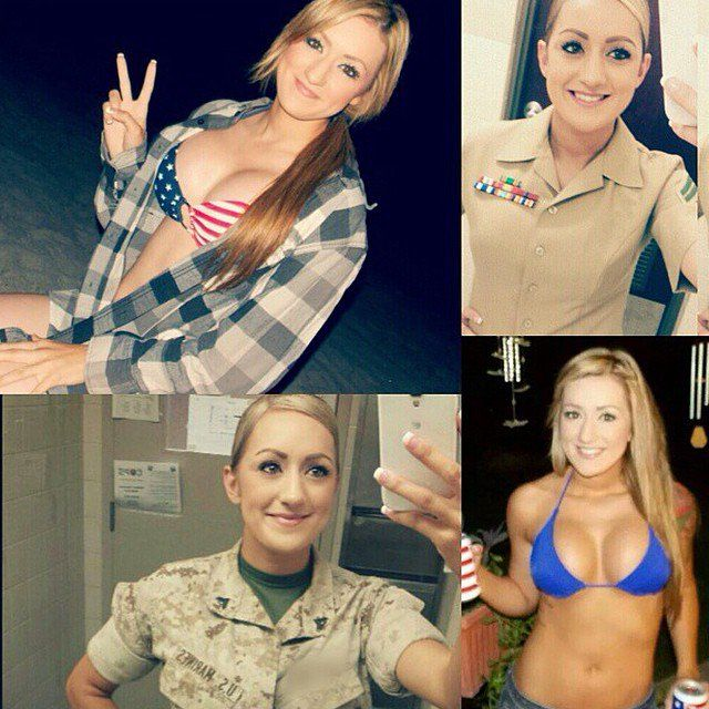 sexiest military women